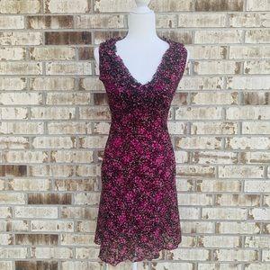 La Belle floral dress size s